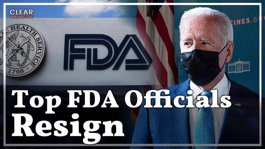 FDA Officials Resign After Biden's Booster Shot Plan; Israel Preparing for the 4th Shot