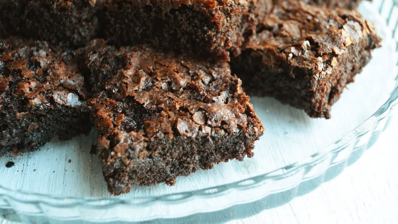 Fudgy Brownies without chocolate