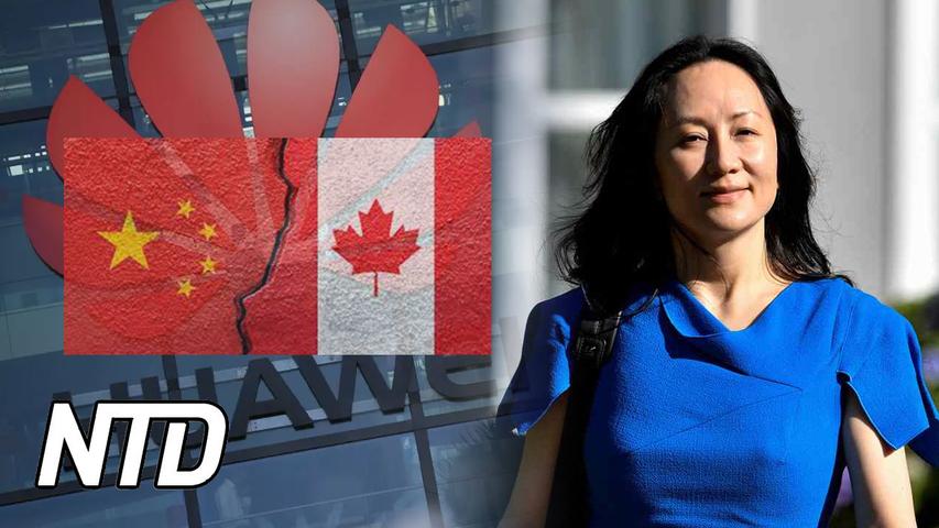 Utlämningsförhandlingarna närmar sitt slut för Huaweis CFO | NTD NYHETER