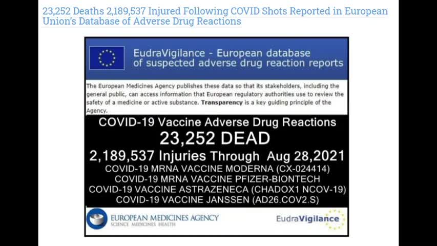 How many dies in Covid-19 Vaxxine?