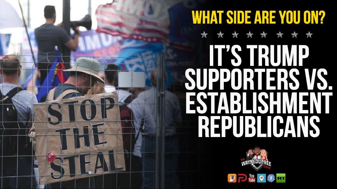 Can Trump Supporters And Republicans Join Together Or Is It Too Late?