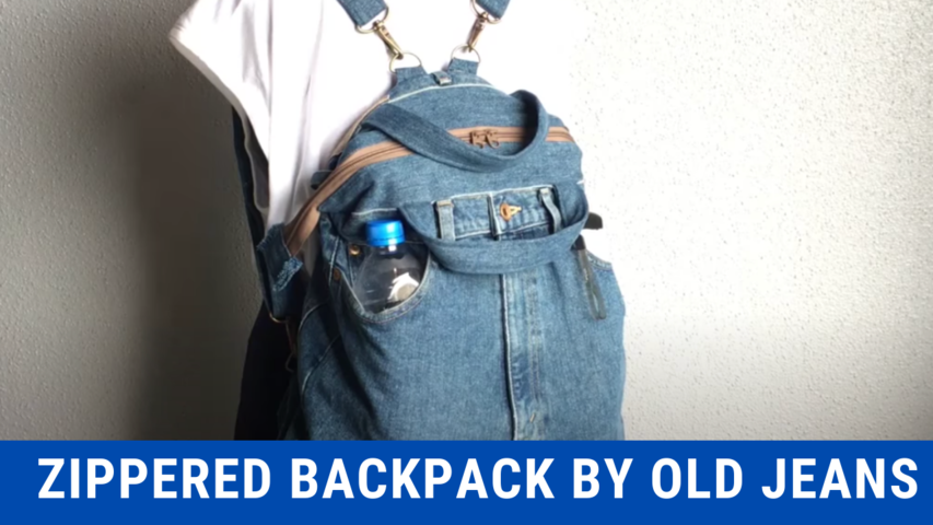 Zippered Backpack by Old Jeans