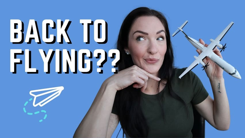 Getting My WINGS Back?? Journey Back to the FLIGHT DECK After my Layoff 2021 pt 1   Life Update!