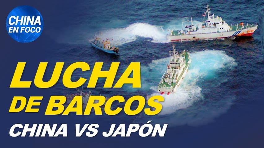 China y Japón luchan en el mar. Wikipedia expulsa a chinos