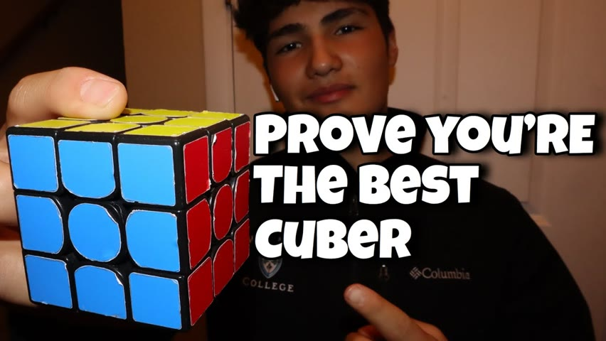 EZCubing Race Challenge! Best Cuber In The Community Wins $25 And A Signed Cube!