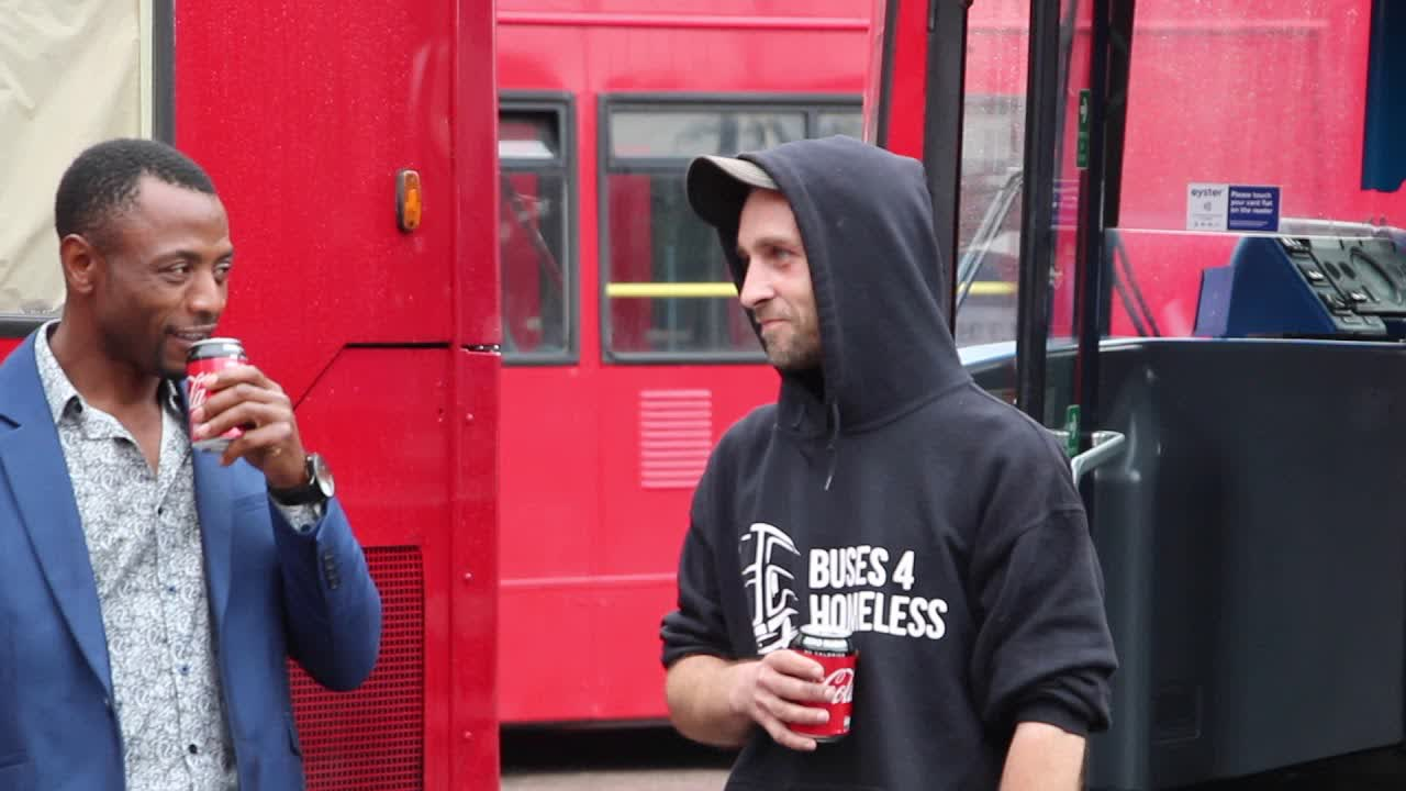 These Buses Have Been Transformed Into Spaces For Homeless Londoners