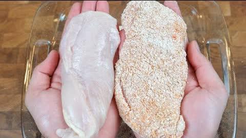 ¡No frías más el pollo, hazlo así! Receta Rápida y Nutritiva!