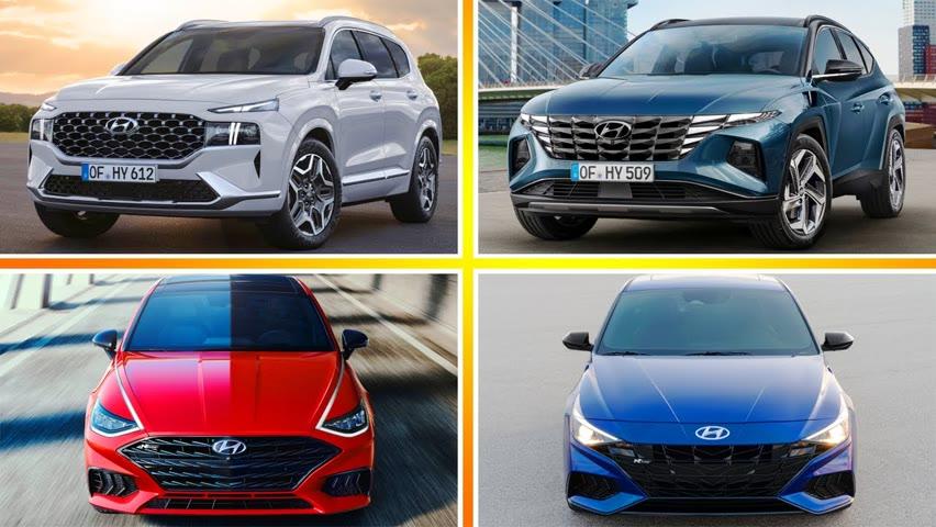 7 Newest HYUNDAI Cars UPCOMING For 2021