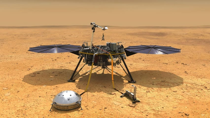 InSight Live Q&A: Journey to the Center of Mars with the Lander Team
