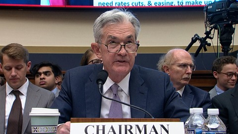 US Stocks hit record intraday highs after Fed Chairman signals rate cuts