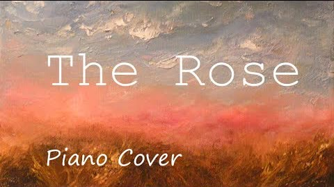 The Rose(Cover By RoRo & Jason Piano) [ Bette Midler ]  鋼琴 Jason Piano Cover