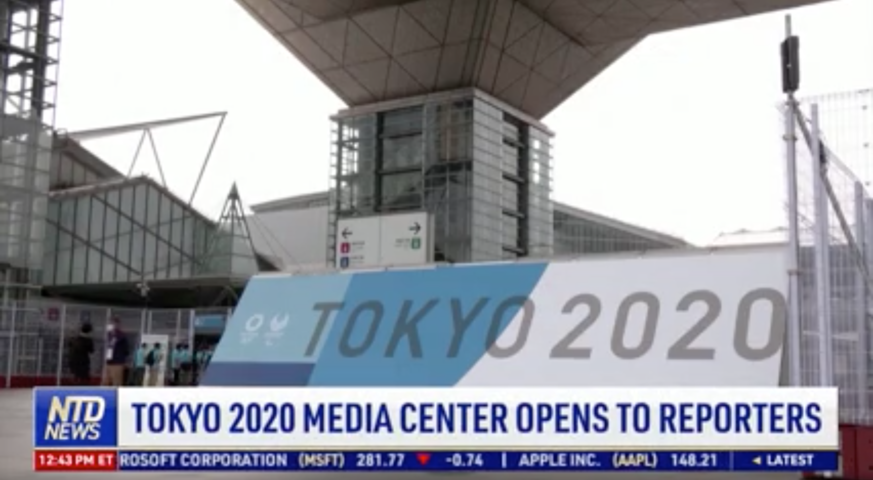 Tokyo 2020 Media Center Opens to Reporters