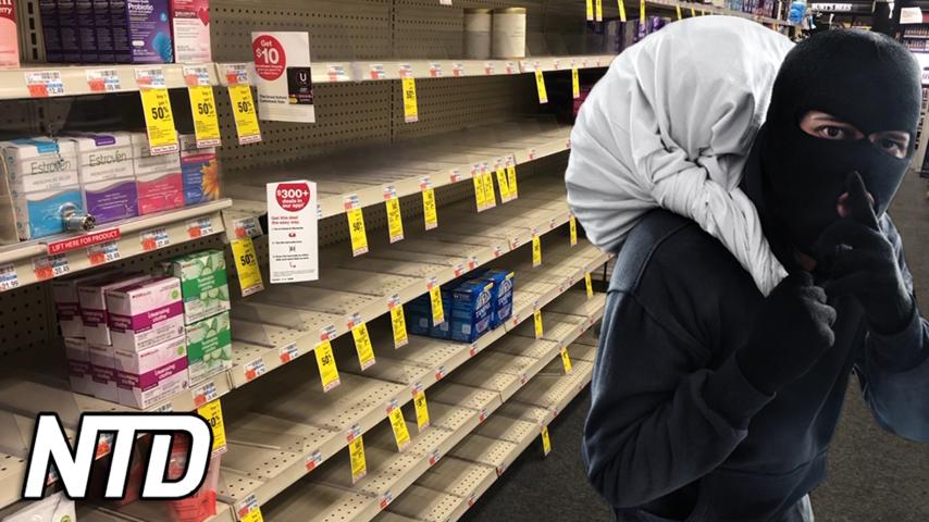 Tjuvar tömmer apotek dagligen i New York | NTD NYHETER