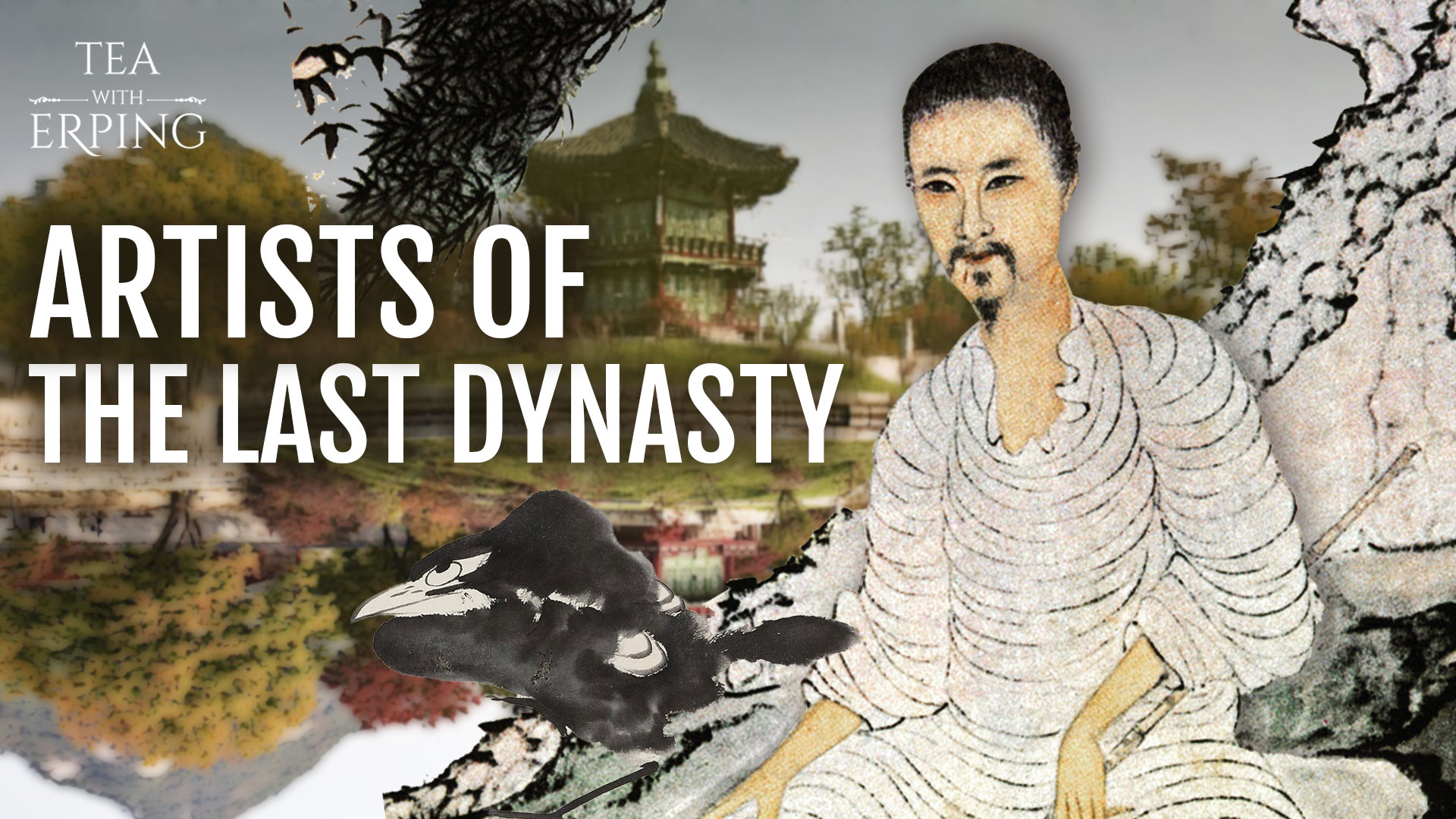"""Who were the Four """"Kings"""" and Four Monks of the Qing?   Chinese Paintings Pt. 3   Tea with Erping"""
