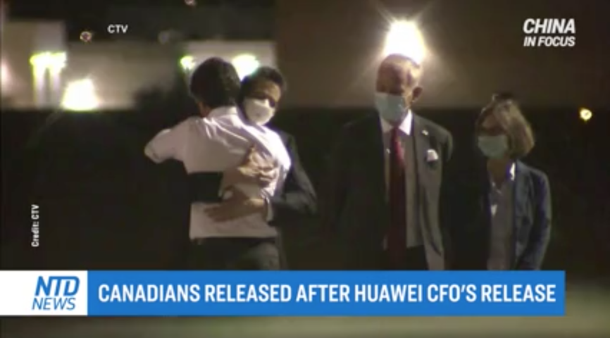 Expert: Release of Canadian Citizens an Example of China's Hostage Diplomacy