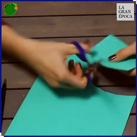 ¡Artesanías con papel para el árbol de Navidad! 🎄🌟