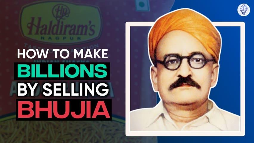 How did Haldiram Build a 5000cr business empire? : Business case study