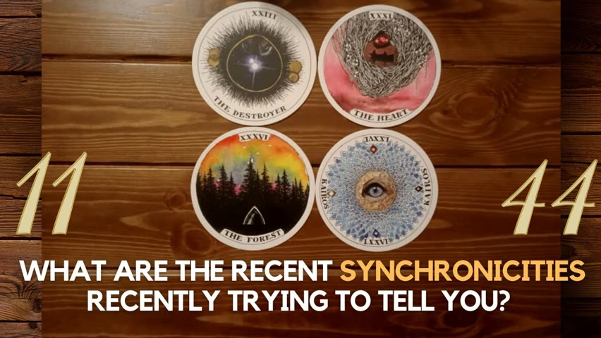 What are the recent synchronicities trying to tell you? ✨😮😍✨ | Pick a card
