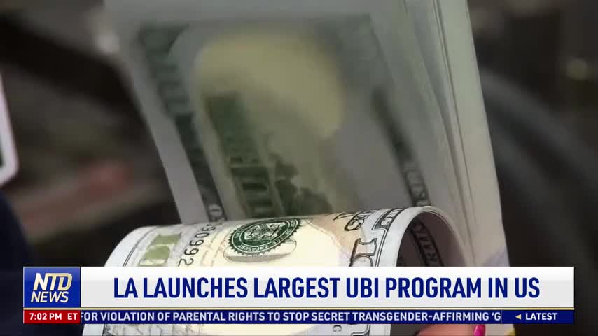 Los Angeles Launches Largest Universal Basic Income Program in US