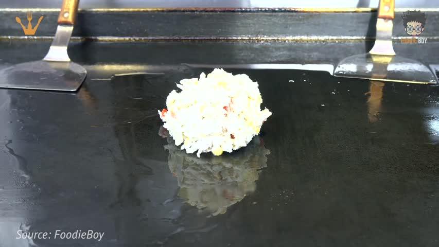 Okonomiyaki - Korean Street Food