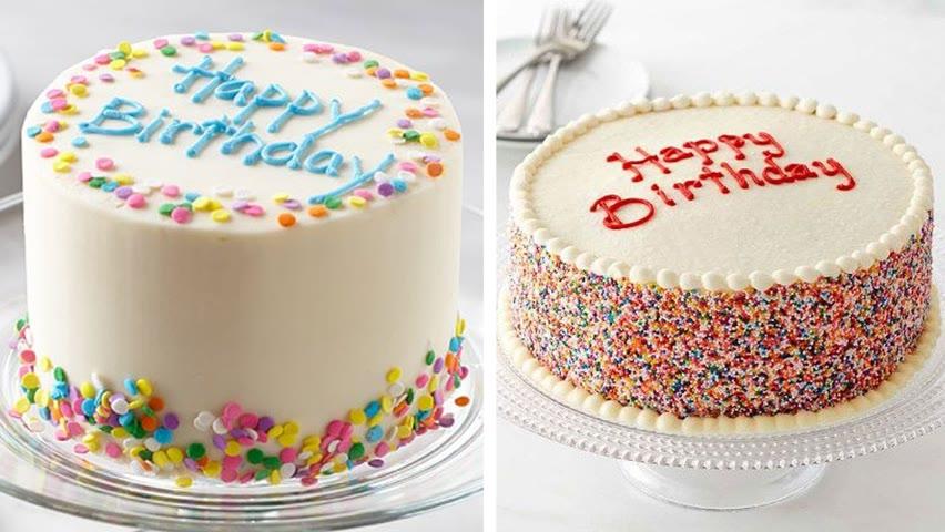 Top 100 Easy Birthday Cake Decorating Tutorials Like A Pro | So Yummy Cake | Fancy Cake Design Ideas