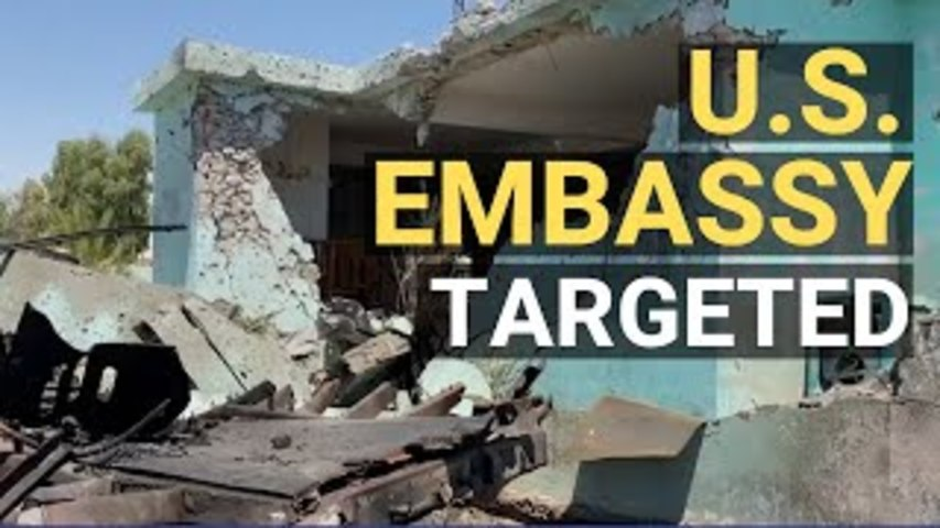 Rocket Attack Targets US Embassy in Iraq; Florida Crews Give Up on Rescue; 36 States+DC Sue Google