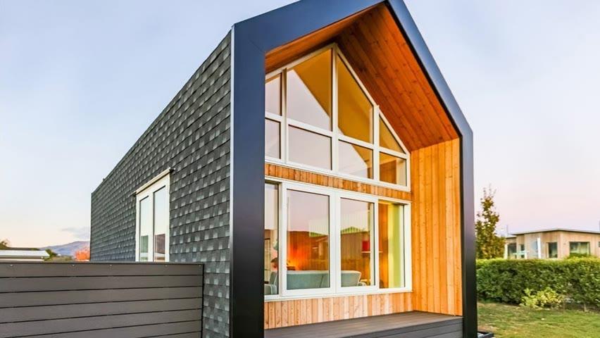5 Amazing Luxury Tiny Houses | Top Storage Ideas For Tiny Homes ▶3