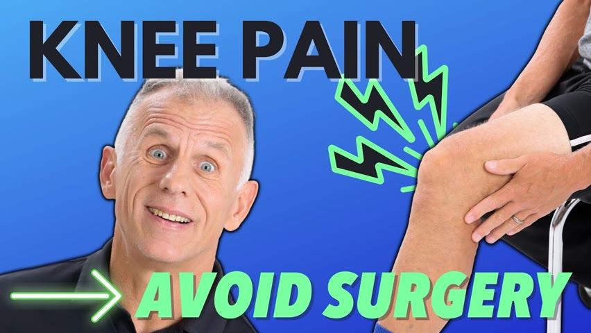STOP INNER KNEE PAIN & Avoid Surgery, 4 Specific Options