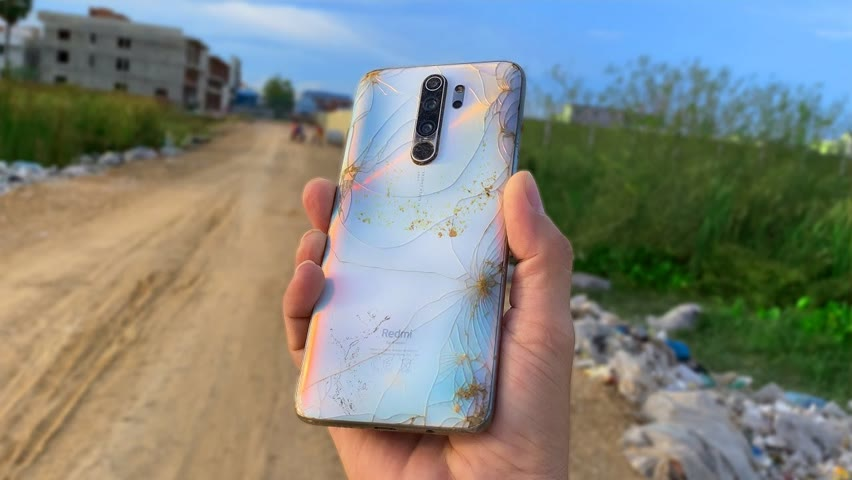 Restoring Xiaomi Redmi Note 8 Pro Cracked Found On The Road