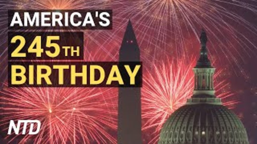 July 4 Celebrations; Collapsed Florida Condo Demolished; Ransomware Attack Hits Almost 200 Firms