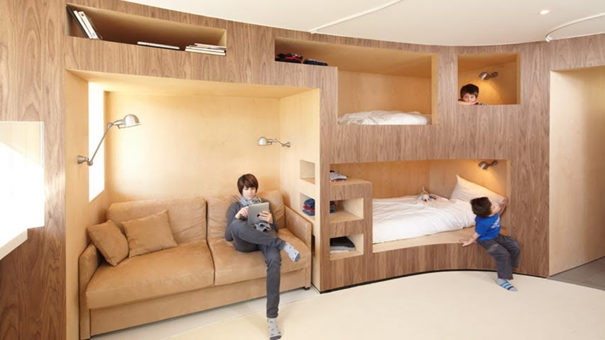 Incredible Bedroom And Space Saving Furniture For Small Apartment