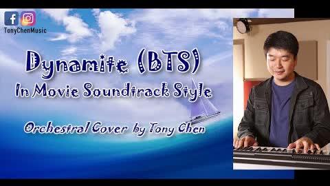 Tony Chen - Dynamite (BTS) - K-Pop Orchestral Cover - I turned Dynamite into movie soundtrack style!