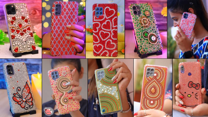 Trendy Look!!.. The Best DIY Mobile Cover For Teenager Girls   For College Girl #lifehacks #shorts