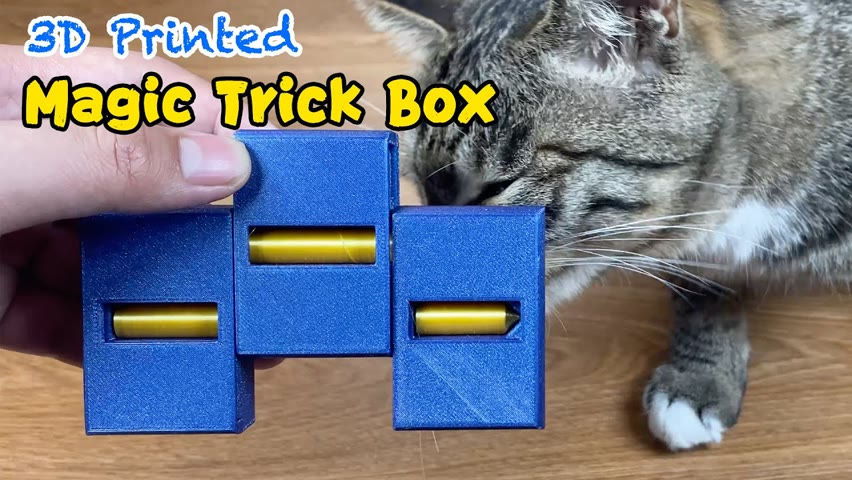 3D Printed Magic Trick Box   How does it work?🤯