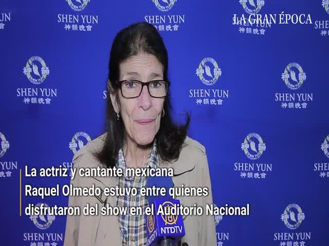 Raquel Olmedo queda conmovida tras ver Shen Yun