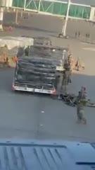 US troops defending Kabul Airport. #Kabul Airport  #Kabul Airport