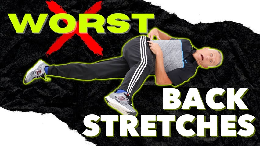 Worst Stretches For Low Back Pain & Best Alternatives by Dr. Stuart McGill