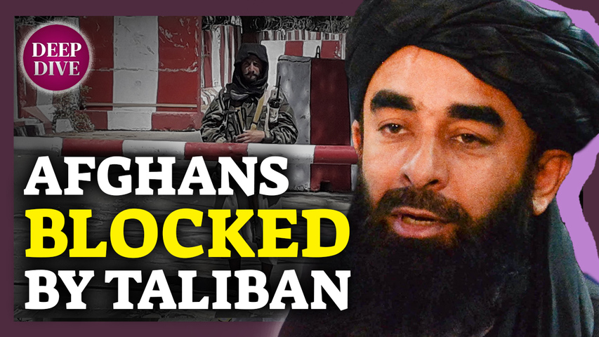 Taliban Blocks Afghans From Leaving the Country; House Passes Sen. Sanders' $3.5T Budget Plan