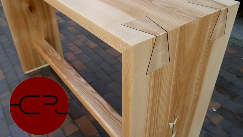 Unique dovetail bar table