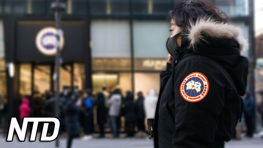 Kina bötfäller ett kanadensiskt klädföretag | NTD NYHETER