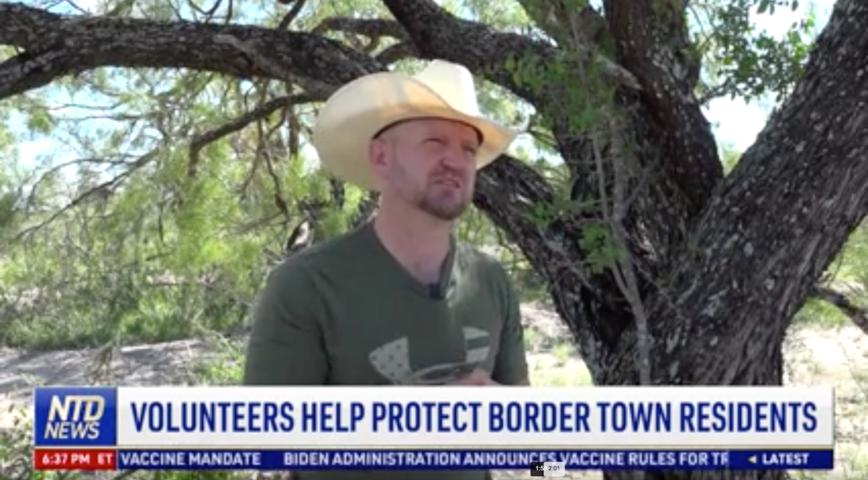 Volunteers Help Protect Border Town Residents
