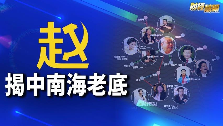 挖掘中共權貴關係,「趙家人俱樂部」網站爆紅;世貿40國譴責北京,提問1600次【希望之聲TV-財經慧眼-2021/10/22】
