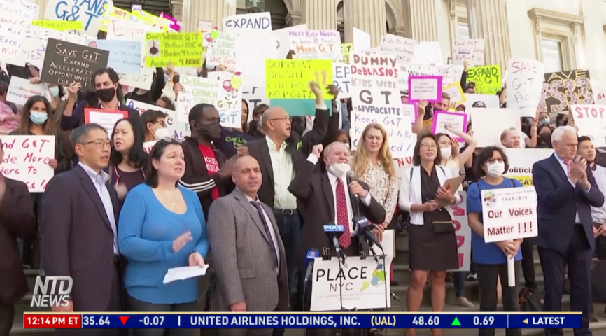 NYC Parents Rally for Gifted Schooling