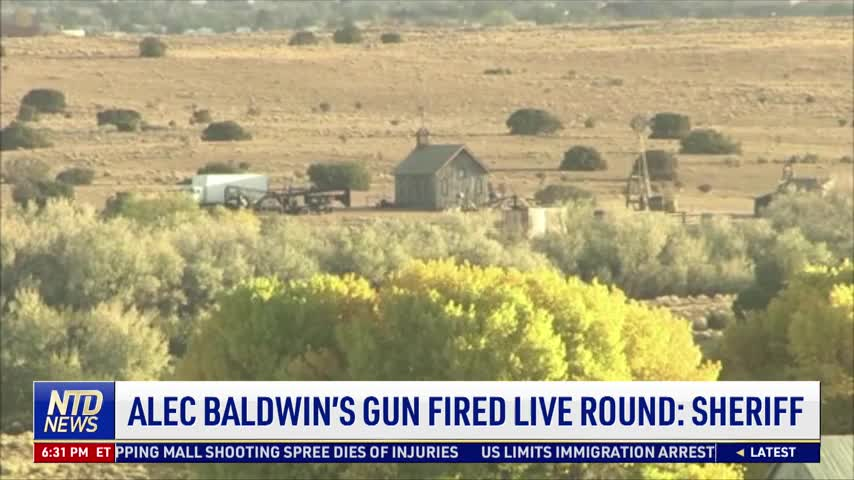 Alec Baldwin's Gun Fired Live Round: Sheriff
