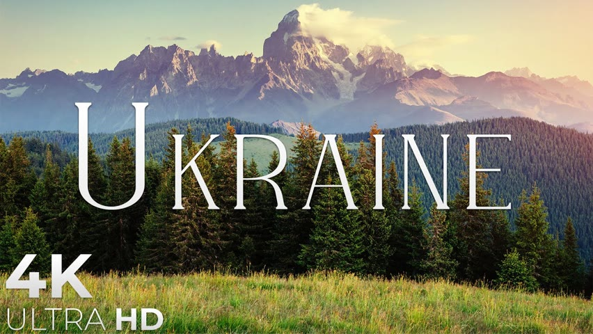 Ukraine 4K Nature scenery & Romantic Music, Beautiful Relaxing Music • Our Planet by Relaxation Film