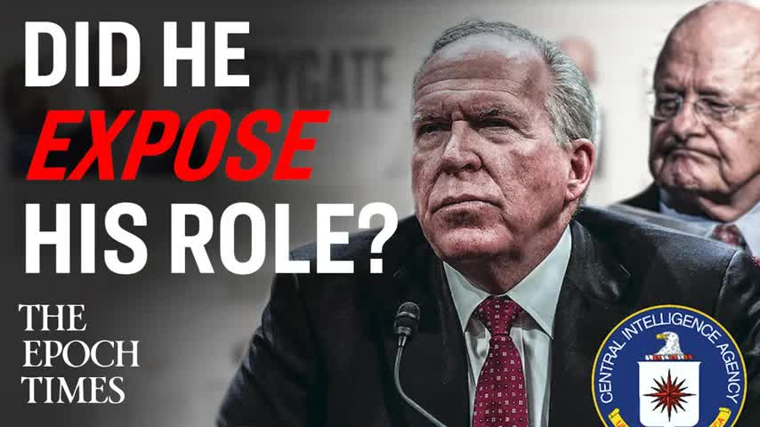 Did John Brennan Expose His Role During the 2016 Elections?
