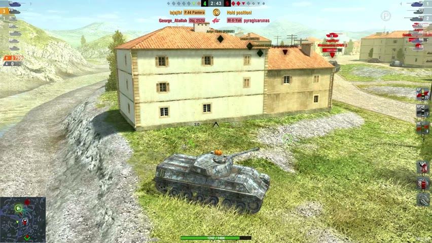 P.44 Pantera 5713DMG 4Kills   World of Tanks Blitz   lejajfbf
