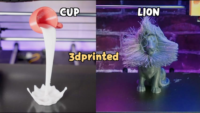 3dprinted Cup&Lion🤣