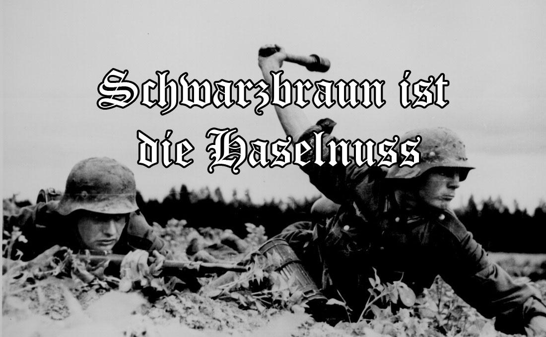 Schwarzbraun ist die Haselnuss - Volkslied & Soldatenlied