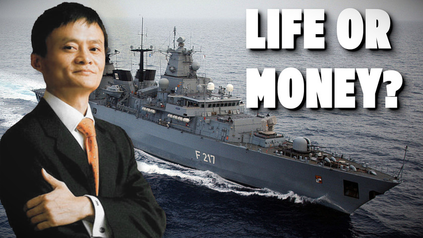 German Warship to South China Sea and the Destiny of the Chinese Billionaires